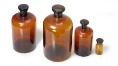 Apothekerflaschen braun