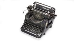 Schreibmaschine Olympia alt