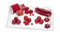 Weihnachtsschmuck rot