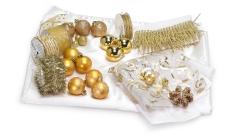 Weihnachtsschmuck gold