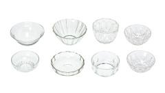 Glasschalen rund