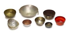 Schälchen Metall