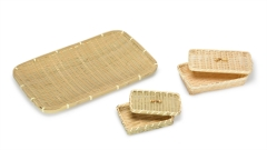Bambus-Körbe