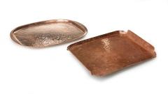 Servierplatten Kupfer