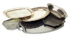 Servierplatten Metall
