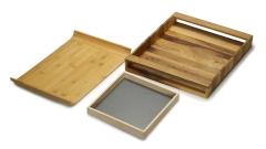 Serviertablett Holz