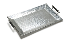 Serviertablett Metall