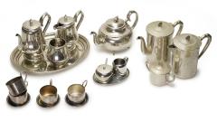 Tee-Set Metall