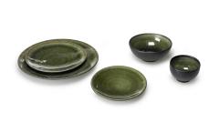 Geschirr grün