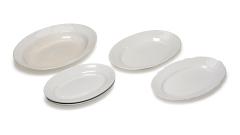 Schalen oval