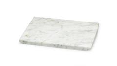 Marmorservierplatte