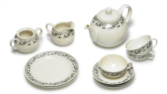 Servieren Keramik