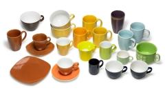 Tassen farbig