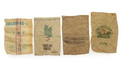 Juten-Kaffeesäcke