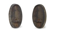 Fassfront oval von rechts und links