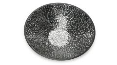 Schale Metall Glas