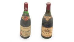 Weinflaschen alt 1959-1971