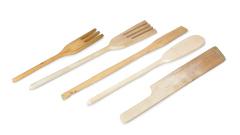 Holz-Utensilien